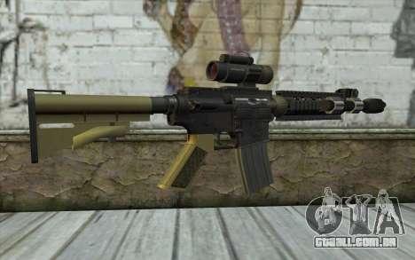 M4 MGS Iron Sight v2 para GTA San Andreas segunda tela