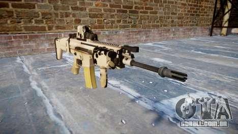 Máquina FN SCAR-L Mc 16 icon1 para GTA 4