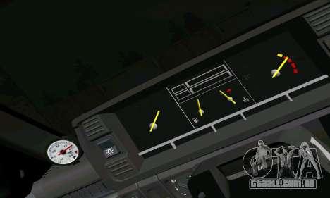 VAZ 2108 para GTA San Andreas vista inferior