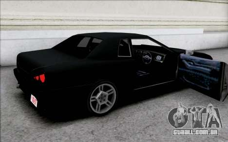 Japan Elegy para GTA San Andreas vista interior