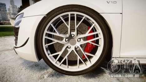 Audi R8 LMX 2015 [EPM] [Update] para GTA 4 vista de volta