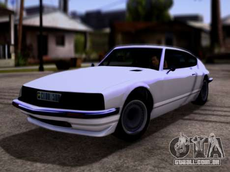 Lampadati Pigalle GTA V para GTA San Andreas