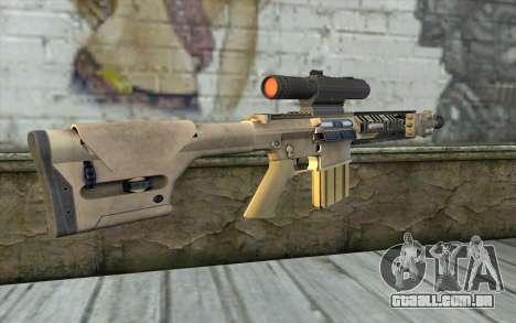 M110 Cuarter Combat Rifle para GTA San Andreas segunda tela