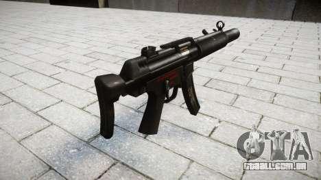 Arma MP5SD RO CS para GTA 4 segundo screenshot