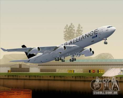 Airbus A340-300 All Nippon Airways (ANA) para GTA San Andreas