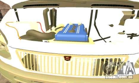 Gazela de Reboque 33023 Beta v1.2 para GTA San Andreas vista traseira
