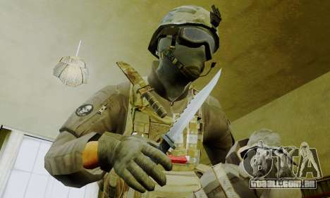 Spec Ops para GTA San Andreas quinto tela