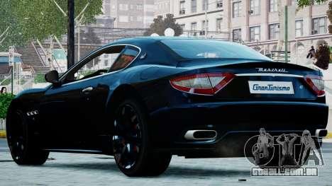 Maserati Granturismo 2012 para GTA 4 esquerda vista