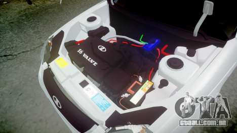 ВАЗ-2170 de alta qualidade para GTA 4 vista lateral