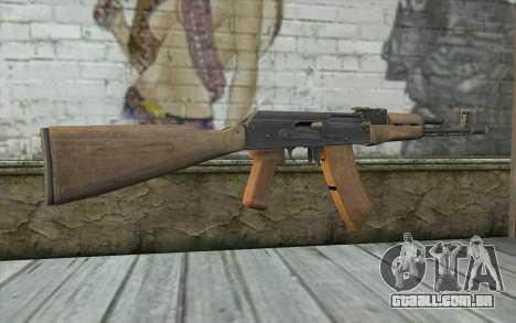 AK-74 Standart para GTA San Andreas segunda tela