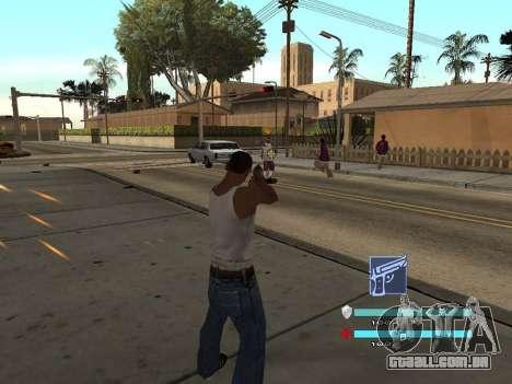 C-HUD OREAN para GTA San Andreas segunda tela