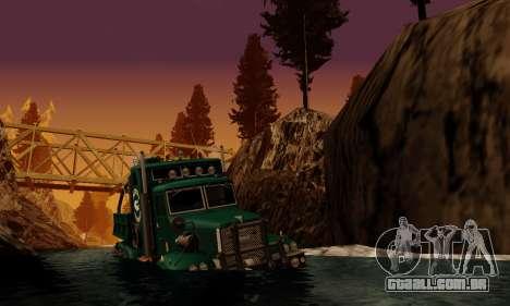 Pista de off-road 4.0 para GTA San Andreas sexta tela