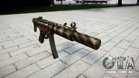 Arma MP5SD NA CS para GTA 4