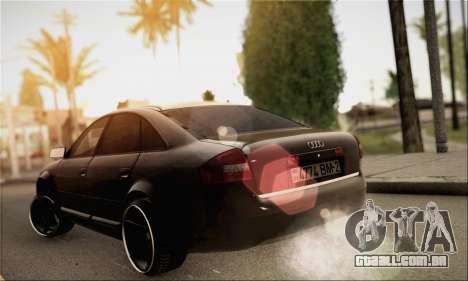 Audi A6 para GTA San Andreas esquerda vista