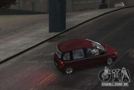Fiat Multipla para GTA 4 traseira esquerda vista