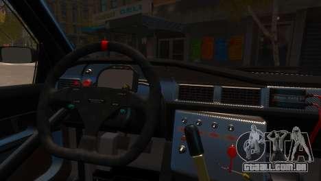 Mercedes-Benz 190E Evo2 GT3 para GTA 4 vista direita