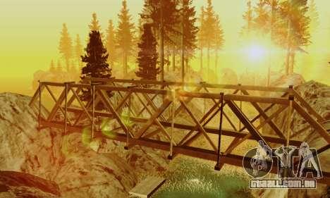 Pista de off-road 4.0 para GTA San Andreas segunda tela