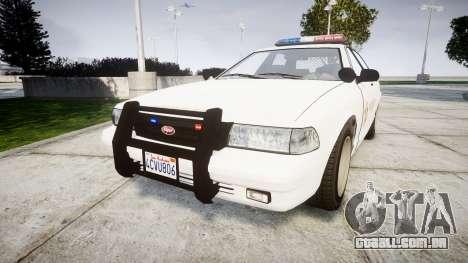 GTA V Vapid Police Cruiser Rotor [ELS] para GTA 4