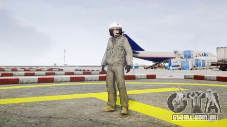 Piloto de combate para GTA 4