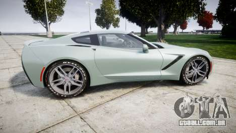 Chevrolet Corvette C7 Stingray 2014 v2.0 TireGY para GTA 4 esquerda vista
