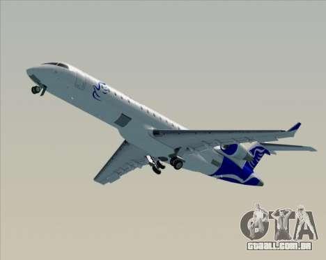 Embraer CRJ-700 China Express Airlines (CEA) para GTA San Andreas vista superior