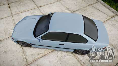 BMW M3 E36 para GTA 4 vista direita