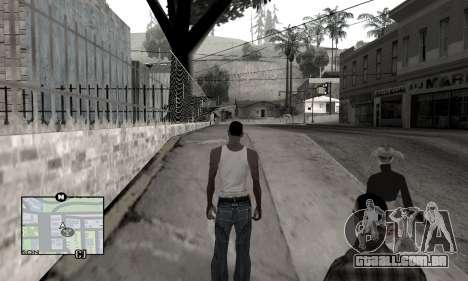 Winter Colormod para GTA San Andreas segunda tela