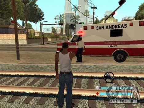 C-HUD OREAN para GTA San Andreas terceira tela