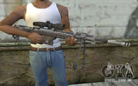Sniper Rifle from Sniper Ghost Warrior para GTA San Andreas terceira tela