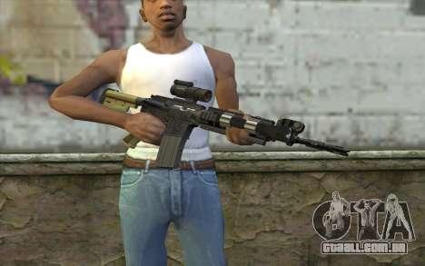 M4 MGS Iron Sight v2 para GTA San Andreas terceira tela