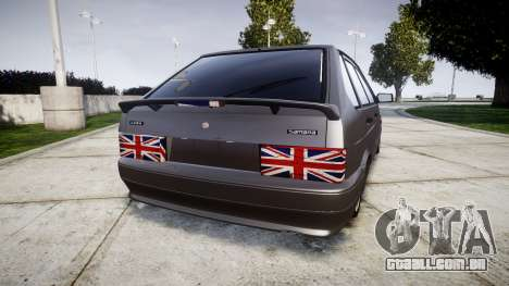 UTILIZANDO-2114 Londres para GTA 4 traseira esquerda vista