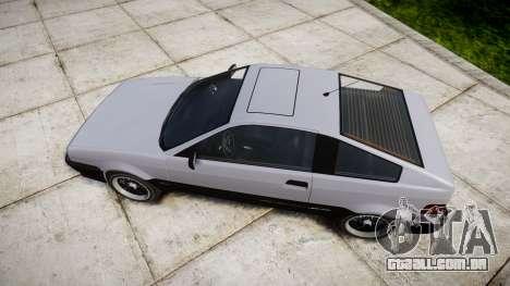 Dinka Blista Compact Sport para GTA 4 vista direita