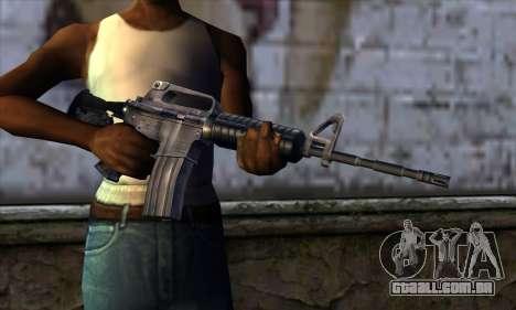 M4 from Far Cry para GTA San Andreas terceira tela
