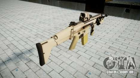Máquina FN SCAR-L Mc 16 de destino icon2 para GTA 4 segundo screenshot