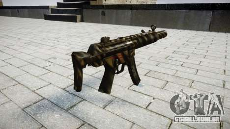 Arma MP5SD NA CS para GTA 4 segundo screenshot