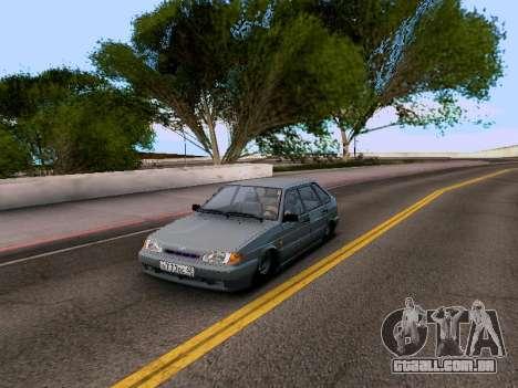VAZ 2114 para GTA San Andreas esquerda vista