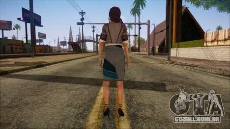 Modern Woman Skin 8 para GTA San Andreas segunda tela
