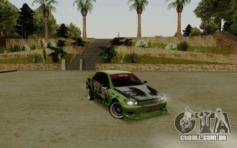 Toyota Altezza Toy Sport para GTA San Andreas
