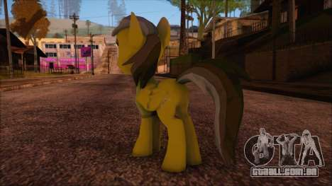 Daring Doo from My Little Pony para GTA San Andreas segunda tela