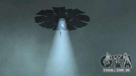 UFO sobre San Andreas para GTA San Andreas terceira tela