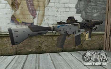 Peacekeeper from Call of Duty Black Ops II para GTA San Andreas segunda tela