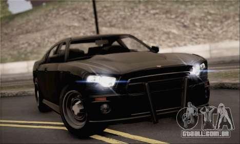 Bravado Buffalo S FIB para GTA San Andreas
