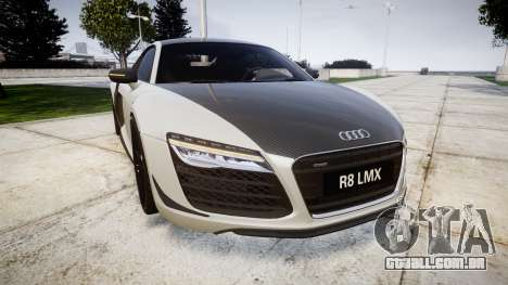 Audi R8 LMX 2015 [EPM] Carbon Series para GTA 4
