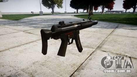Alemão submetralhadora HK MP5SD3 para GTA 4 segundo screenshot