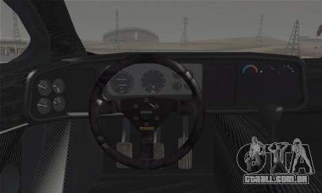 Jaguar XJ220S Ultimate Edition para GTA San Andreas traseira esquerda vista