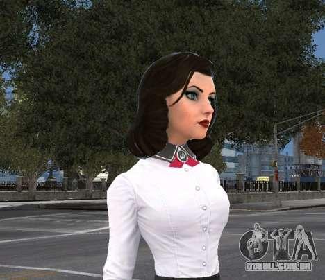 Elizabeth, de Bioshock Infinite: o Enterro No Ma para GTA 4
