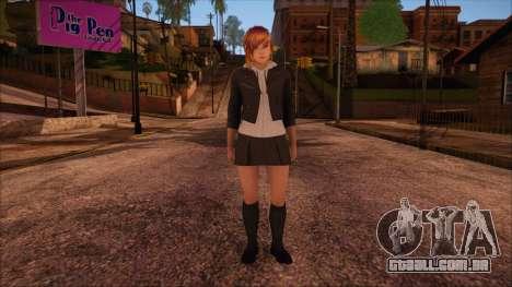 Modern Woman Skin 2 v2 para GTA San Andreas