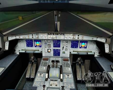Airbus A340-300 Finnair (Oneworld Livery) para GTA San Andreas interior