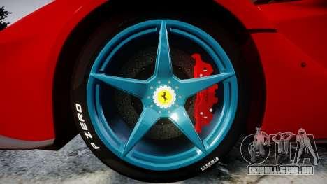 Ferrari LaFerrari 2014 [EPM] para GTA 4 vista de volta