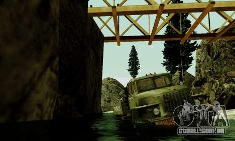 Pista de off-road 4.0 para GTA San Andreas oitavo tela